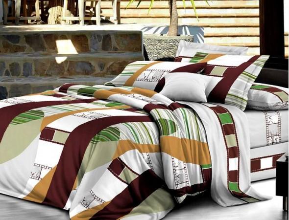 Постельное белье из поплина Бунгали