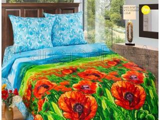 Комплект постельного белья Алые маки