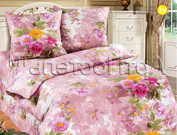 Постельное белье из бязи Аромат лета роз.