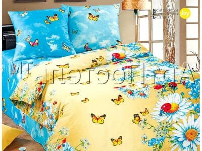 Полуторное постельное белье Летний день