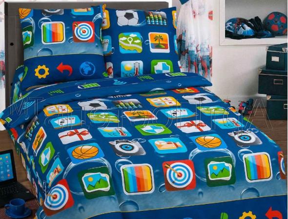 Детское постельное белье Матрица Подростковый