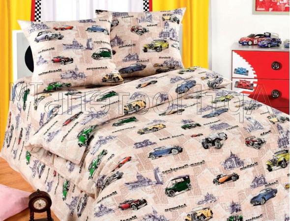Детское постельное белье Автокруиз