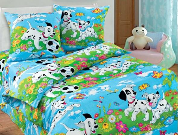 Детское постельное белье Далматинцы гр. Подростковый