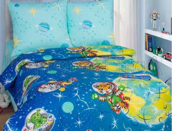 Детское постельное белье Космошарики Подростковый