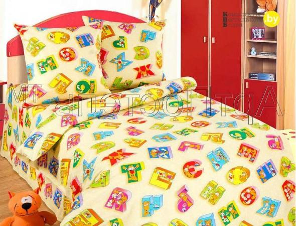 Детское постельное белье Алфавит