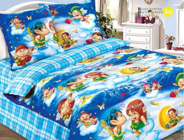 Детское постельное белье Амуры гол.
