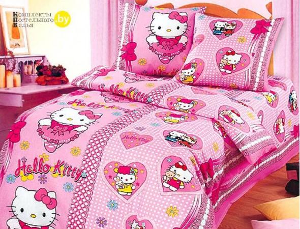 Детское постельное белье Бантики