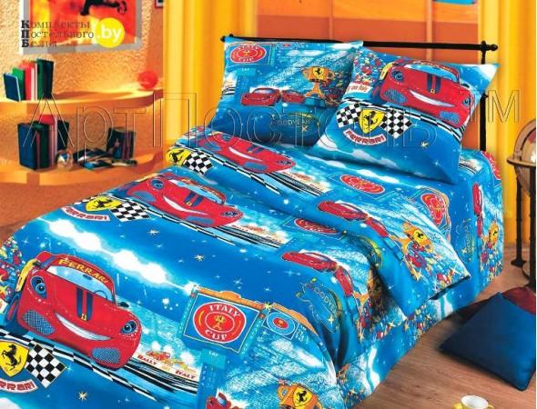 Детское постельное белье Ралли Подростковый