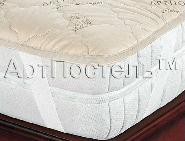 Наматрасник Верблюжья шерсть-Тик 90Х200 90*200