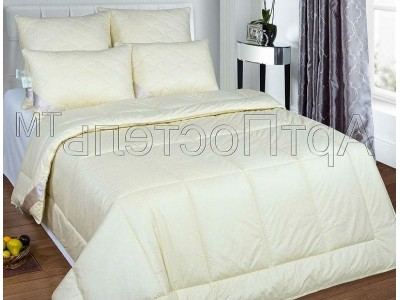 Одеяло Тик-Овечья шерсть Двуспальное