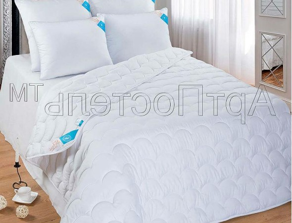 Одеяло Микрофибра-Лебяжий пух 140х205 Полуторное (140*205)
