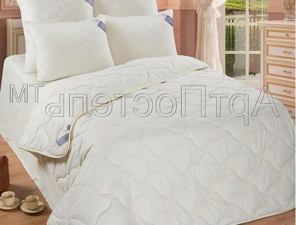 Одеяло Микрофибра-Овечья шерсть 200х215 Евроразмер (200*215)