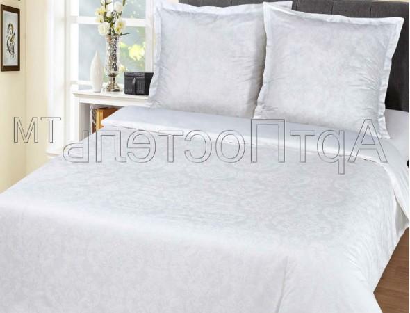 Постельное белье из поплина Византия бел.