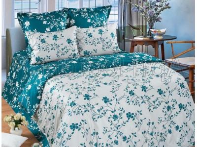 Полуторное постельное белье Изумруд