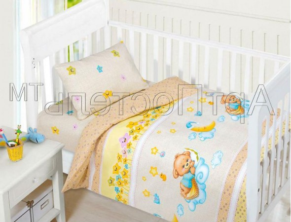 Постельное белье в кроватку Баиньки